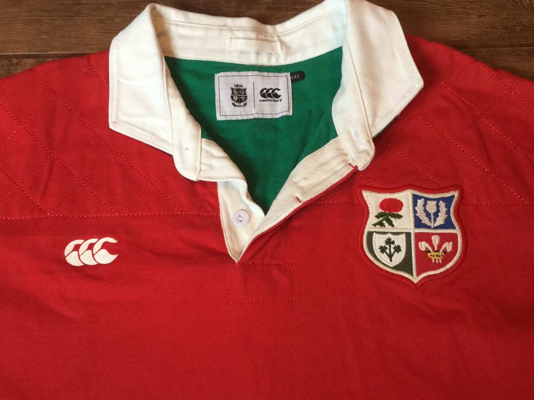 British Irish Lions Shirts Kits Pro Direct Rugby 67727e533